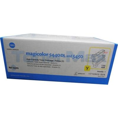 KONICA MAGICOLOR 5440DL TONER CTG YELLOW 12K